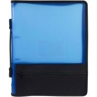 Marbig Zipper Binder A4 2R 25mm Blue
