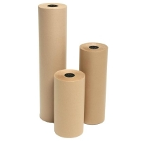 Marbig Brown Kraft Paper Counter Roll 65gsm 848030 750mm x 340M