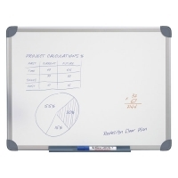 Quartet Penrite Magnetic Whiteboard QTMG0906R 900x600mm