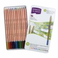 Derwent Academy Pencils Watercolour tin12 2301941