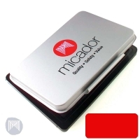 Micador Stamp Pad Size 1 76x115mm SOT160 Red