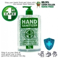 Hand Sanitizer 1st Care Pump Action 1 Litre