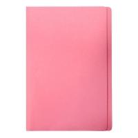 Marbig Manilla Folders Coloured Fcap BX100 Pink
