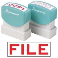 XSTAMPER STAMP - File (Red) 1051 (5010510)