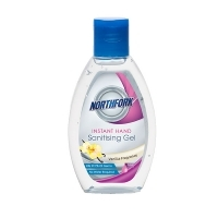 Northfork Hand Sanitiser Instant No Water Gel 70ml PK24