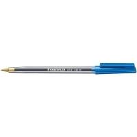 Staedtler Stick Ballpoint Pen 430M BX10 Med Blue