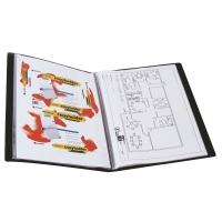 Marbig A3 Display Book 20pocket 2008802 Black