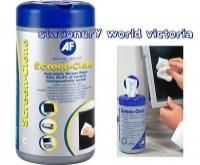 Cleaner AF Screenclene Wipes Tub100 SCR100T