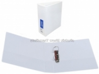 Bantex Insert Binder A5 2D 50mm (400page) White BX12