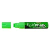 Texta Jumbo Liquid Chalk Wet Wipe Marker 15mm Green