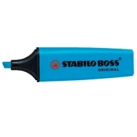 Stabilo Boss Highlighter 70/31 Blue BX10