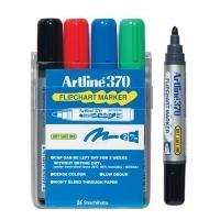 Artline Flipchart Marker 370 Wallet4 asstd