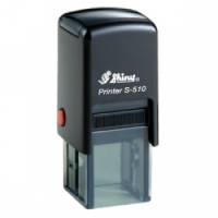 Shiny Self-Inking Stamp S510 (Square) 12x12mm