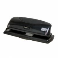 Rexel Premium Punch P425 4hole Fixed 25sheet Black