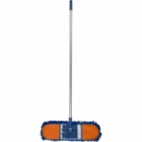 CLEANLINK CHENILLE DUST MOP Aluminium Handle 125x20x60cm