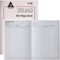 Wildon Wages Book Mini 171W