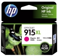 HP Ink Cartridge 915XL Magenta  - 825 pages