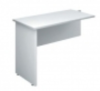 DDK Accent Desk Return 900x600mm All Grey