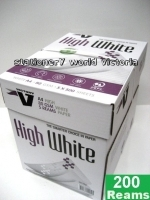 Victory A4 Paper 80gsm White E(40bxs:200reams) Med-Pallet