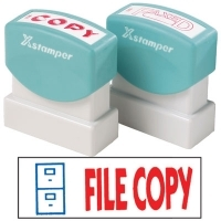 XSTAMPER STAMP - File Copy (2 colour) 2032 (5020320)