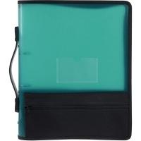 Marbig Zipper Binder A4 2R 25mm Green