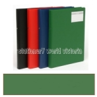 Bantex Flexi Ring Binder A4 2R 20mm Green 1230-15