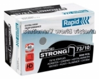 Rapid Staples 73/10 10mm Box 5000