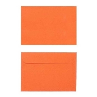 Quill Envelope 80gsm C6 114x162 Pack 25 - Orange