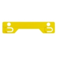 Avery Tubeclip Fasteners Yellow Compressor Bar 44008Y PK25