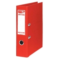 ColourHide A4 PE Lever Arch Files BX12 Red