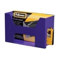 Fellowes Desktop Suspension File Holder Purple 0154201
