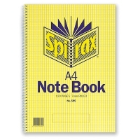 Spirax Notebook 595 A4 120page SideOpen