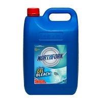 Northfork Bathroom Gel Bleach Antibacterial 5Ltr PK3
