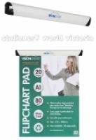 Visionchart Magnetic Flipchart Bar Clamp 600mm VA0020