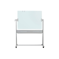 Quartet Infinity Mobile Magnetic Glassboard QTG1209 1200x900