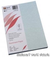 Quill Parchment Paper A4 90gsm PK100 Blue