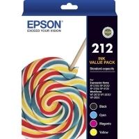 Epson Ink Cartridge 212 4 Ink Value Pack