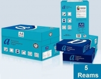 aPremium A4 White 80gsm Copy Paper A(1Box-5reams)