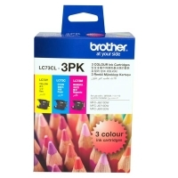 Brother Ink Cartridge LC73CL3PK CMY Colour Pack