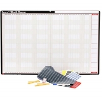 Sasco Undated 12 Month Wall Planner 910 x 605mm
