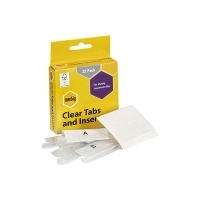 Marbig Suspension Files Clear Tabs & Inserts BX25