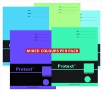 PROTEXT Exercise Book 225x175mm 48page 8mm Ruled PK20