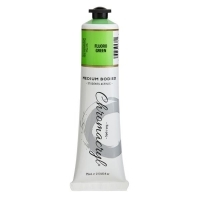 Chromacryl Student Acrylic Paint 75ml Fluoro Green