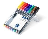 Staedtler 313 Lumocolor Pens Superfine 313WP8 WLT8