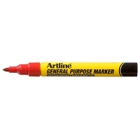 ARTLINE GENERAL PURPOSE PERMANENT MARKER RED