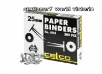 Celco 644 Paper Binders 25mm BX200