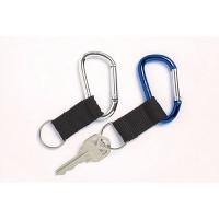 Rexel Carabineer Key Ring Assorted Pk2  98025