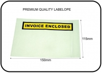 Invoice Enclosed Labelopes 150x115mm BX1000 OSMER iE1511