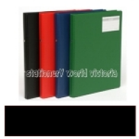 Bantex Flexi Ring Binder A4 2R 20mm Black 1230-10