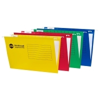 Marbig Suspension Files Incl.Tabs & Inserts BX25 Assorted